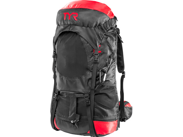TYR Elite Transition Svømmerygsæk, black/red